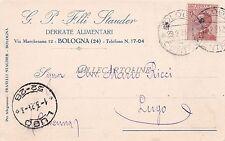 BOLOGNA - G.P. F.lli Stauder - Derrate Alimentari 1924