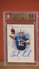 2012 Prime Signatures Autographs Silver Andrew Luck Card BGS 9.5 Auto 8.