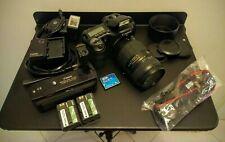 Exc+ Canon Eos 10D Digital Slr Photo Camera Grip Complete Set Low Shutter Count