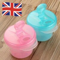 Milk Powder Dispenser 3 Dose of Baby Feeding Formula Storage UK Stock Gift