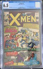 (1965) X-MEN #9 1st AVENGERS x-over! 1st Lucifer! CGC 6.5!