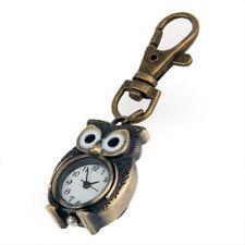 Keychain Clock Keyring Owl Shape 37x24mm LW