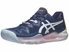 New Asics Tennis Shoes Us Sz 7 Women's *Gel Resolution 8 *Navy Peacock White