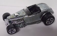 2000 Hot Wheels First Editions Deuce Roadster #066-Chrome Silver Paint