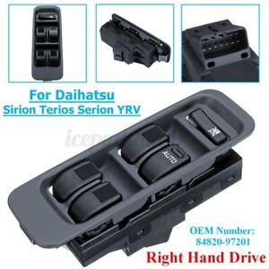RHD Main Window Switch For Daihatsu Sirion Serion M100 YRV Mira L500 1998~2001