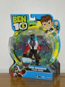 Cartoon Network Ben 10 Omni Enhanced Four Arms Figure - NEW