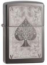 Zippo Ace Filigree Black ice -  Windproof Lighter -  - 28323 - Gift Box