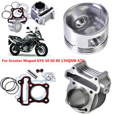 Big Bore Cylinder Block Piston Kits Fits for GY6 50cc-80cc 4 Strokes Scooter ATV
