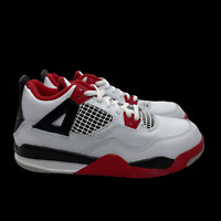 Nike Air Jordan 4 Retro PS Fire Red PS White Grey BQ7669160 11c 12c 13c 1.5Y 3Y