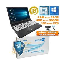 """COMPUTER NOTEBOOK PORTATILE FUJITSU A561 I3 2310M 15,6"""" DAD W10 PRO MEET TEAMS-"""
