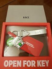 HYT hytwatches Open For Key set. Keyring, Red Leather Luggage Tag etc. NEW