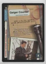 1996 The X-Files Collectible Card Game #NoN Geiger Counter Gaming 0f6