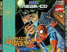 # Amazing Spider-Man vs. the Kingpin-Sega Mega-CD/MCD gioco-TOP #