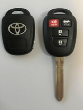 Toyota Corolla Camry Rav4 2012-2016 4 Button Remote Head Key Shell TOP Quality
