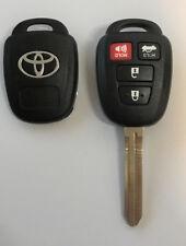Toyota Corolla Camry Rav4 2012-2016 4 Button Remote Head Key Shell TOP Quality