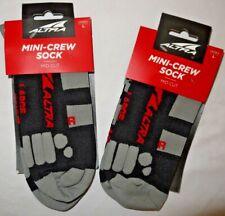 BNWT Unisex ALTRA Running Mini-Crew 3D Accupressure Socks size L $50