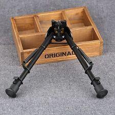 "9-15"" Adjustable Rifle Gun Precision Swivel Sniper Bipod Spring Return Shooting"