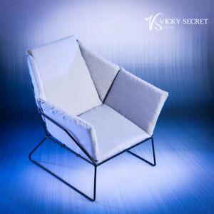 VStoys Vicky Secret 1:6 Miniature Fashion Metal Furniture Living Room 18XG30D