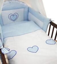 Linge de lit bleu pour bébé garçon