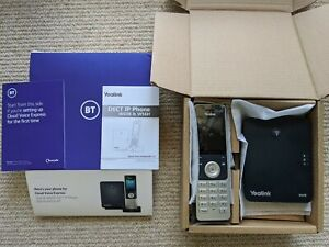 NEW - BT/Yealink W60P Cordless DECT IP Phone Set - W60B Base With W56H Handset