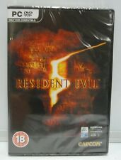 Resident Evil 5-PC Windows Region Free Multilanguage NEW SEALED