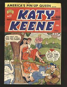 Katy Keene # 17 Good Cond.
