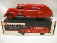 Ertl Esso 1939 Airflow Tanker Bank Die Cast Metal Excellent in Box B285