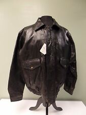 NAPOLINE JACKET LEATHER ROMAN ROCK FULL ZIP FRONT MEN'S SIZE XL NEW WITH TAGS