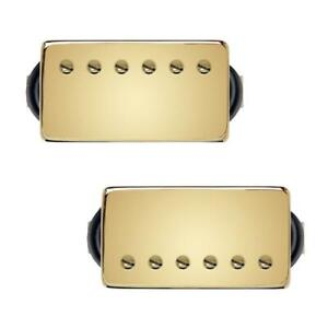 Bare Knuckle Stormy Monday Humbucker Pickup Set 50mm Gold Covers