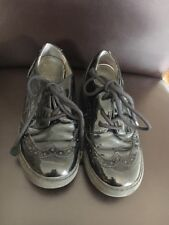Shoes Size 12.5 31 Geox Patent Brogues <T17060