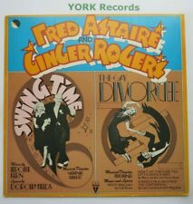 FRED ASTAIRE & GINGER ROGERS - Swing Time / The Gay Divorcee - Ex LP Record EMI