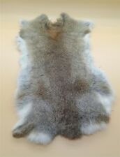 Genuine Naturally Straw  Rabbit Fur Skin Yellow Tanned Leather Hides Craft Pelts