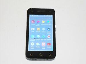 """Alcatel UNLOCKED U3 Model 4G LTE (Cocoa Gray) 4"""" screen w headset & original box"""