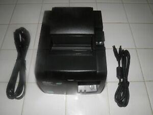 STAR Micronics TSP100 TSP143IIU Thermal POS Receipt Printer w power & USB cords