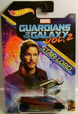 SLING SHOT GUARDIANS OF THE GALAXY VOL. 2 STAR LORD 1/8 HOT WHEELS DIECAST 2017