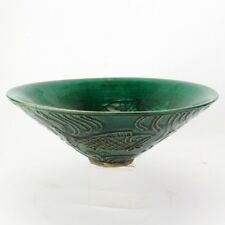 Chinese Green Glaze Bowl Late Ming Dynasty