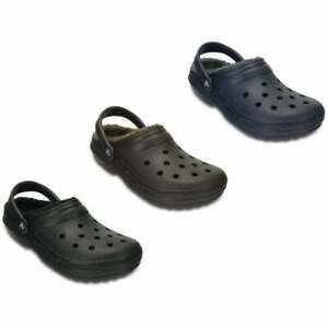 Crocs Classic Lined Unisex Shoes / Clogs in Various Colours and Sizes