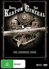 Buster Keaton THE GENERAL - TRAIN ACTION COMEDY (CLASSIC SILENT MOVIE) DVD