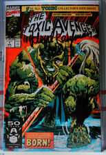 TOXIC AVENGER #1 SIGNED BY TOXIE ACTOR LLOYD KAUFMAN Marvel Comics (1991) VF