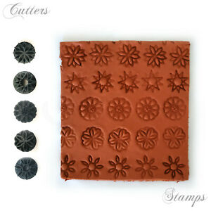 Summer Flowers Clay texture | Debossing Pattern for Pottery | Pottery textures |