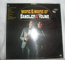SANDLER & YOUNG Vinyl Record  LP More & More Of - Capitol ST-2802 Sealed