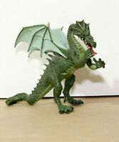 """GREEN WINGED DRAGON 6"""" Action Figure - Plastoy Fantasy Mythical - Near Mint!"""