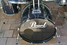 """ADD this PEARL 22"""" EXPORT GUN METAL BLUE BASS DRUM to YOUR DRUM SET TODAY! #V283"""