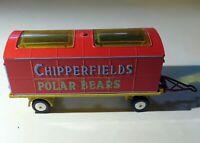 Corgi Chipperfield's Circus Animal Cage #1123 W/Bears Used PLEASE READ