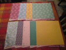 DISNEY PRINCESS SCRAPBOOK PAPER -12 X 12 - 18 SHEETS - 2 SHEETS OF EACH DESIGN