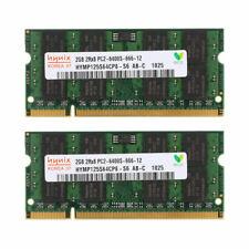 For Hynix 4GB 2X 2GB DDR2-800MHz PC2-6400 200pin Laptop Memory SO-DIMM RAM AAA