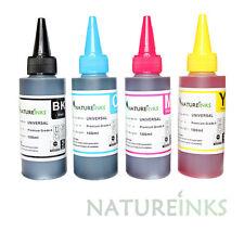 4 100ml Universal Premium Refill Empty Printer ink Bottle kit CISS cartridge