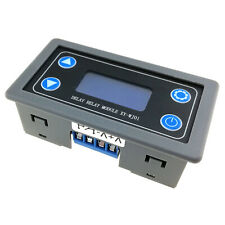 Delay Relay Module Digital LED Dual Display Cycle Timing Circuit Switch XY-WJ01
