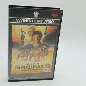 Mad Max: Beyond the Thunderdome (1986) Ex Rental Big Box VHS Video Cassette