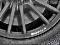 8x BMW M Motorsport Logo Premium Quality Wheel Rim Decals Stickers Alpina M3 M4